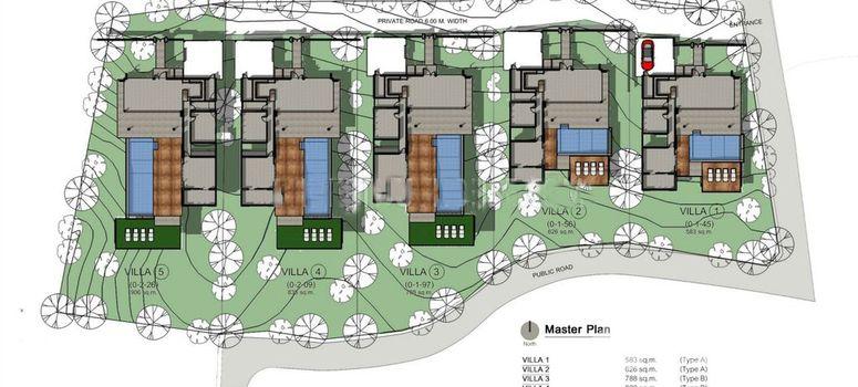 Master Plan of Kata Seaview Villas - Photo 1