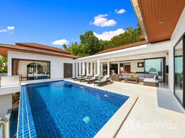 素叻 马叻 Huge, 4 Bedroom, 4 Bathroom Lamai Seaview Pool Villa 4 卧室 屋 售