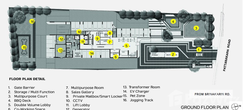 Master Plan of Metris Pattanakarn - Ekkamai - Photo 1