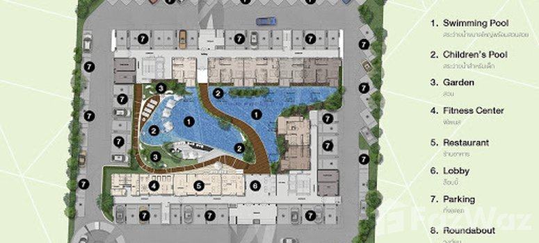 Master Plan of The Feelture Condominium - Photo 1