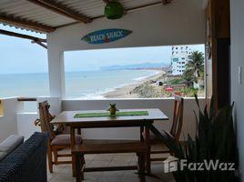 Manabi Crucita Beachfront House for Sale in Manabi 2 卧室 屋 售