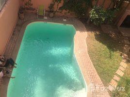 Marrakech Tensift Al Haouz Sidi Bou Ot Villa avec piscine à louer longue durée 4 卧室 别墅 租