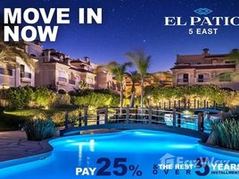 Cairo town house for sale at el patio 5 luxury life- 25% 5 卧室 联排别墅 售