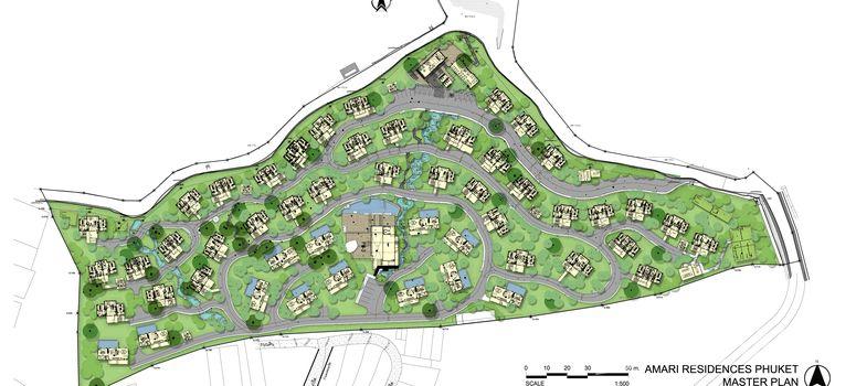 Master Plan of Amari Residences Phuket - Photo 1