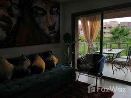 Marrakech Tensift Al Haouz Na Menara Gueliz Bel studio neuf bien meublé à louer longue durée Prestigia Marrakech 1 卧室 住宅 租