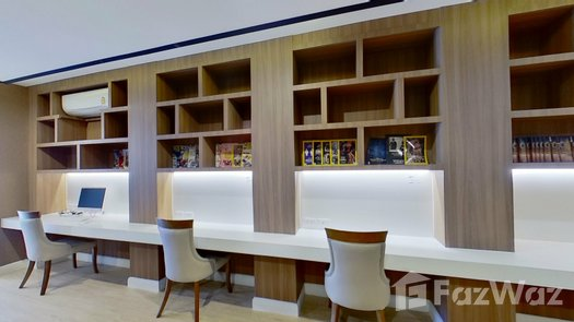 3D Walkthrough of the Library / Reading Room at Seven Seas Cote d'Azur