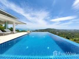 苏梅岛 波普托 Stunning Views From This 5-Bedroom Pool Villa On Bophut Hill 5 卧室 屋 租