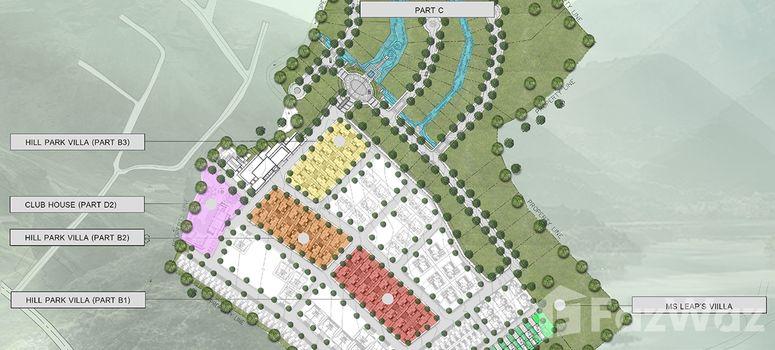 Master Plan of Hill Park Villa - Photo 1