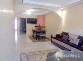 2 Schlafzimmern Appartement zu vermieten in Na Menara Gueliz, Marrakech Tensift Al Haouz A LOUER UN BEL APPARTEMENT MEUBLÉ DE 3 PIÈCES AVEC CHEMINÉE ET TERRASSE SITUÉE PROCHE DU PLAZA EN PLEIN CŒUR DE GUÉLIZ - MARRAKECH