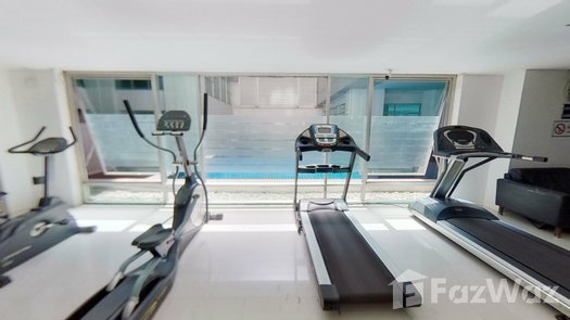 3D Walkthrough of the Communal Gym at Inspire Place ABAC-Rama IX