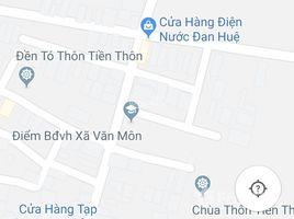 N/A Land for sale in Van Mon, Bac Ninh Bán 190m2 Đất Sổ đỏ thổ cư; Mặt tiền 10m, LH +66 (0) 2 508 8780, đường 2 làn 18m, cách Đền Tó khoảng 200m