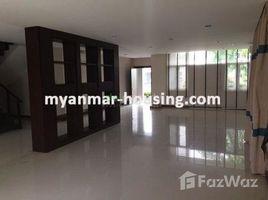 လှိုင်သာယာ, ရန်ကုန်တိုင်းဒေသကြီး 3 Bedroom House for rent in Hlaing Thar Yar, Yangon တွင် 3 အိပ်ခန်းများ အိမ် ငှားရန်အတွက်