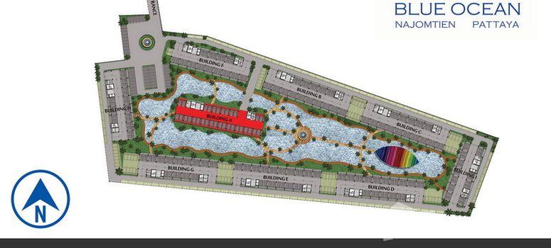 Master Plan of Blue Ocean Pattaya - Photo 1