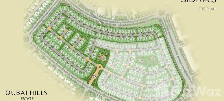 Master Plan of Sidra Villas I - Photo 1