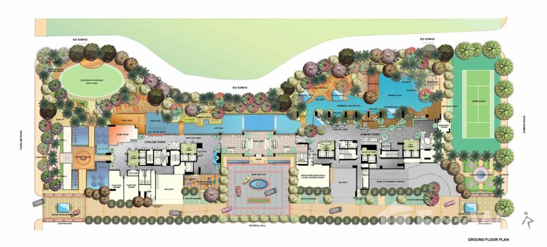 Master Plan of The Park Chidlom - Photo 1
