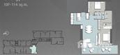 Unit Floor Plans of 185 Rajadamri