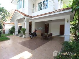 4 Bedrooms Villa for rent in Chak Angrae Leu, Phnom Penh Modern Villa For Rent in Bassac Garden City