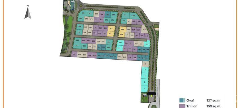 Master Plan of Burasiri Wongwaen-Onnut - Photo 1