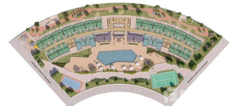 Master Plan of Wavez Residence - Photo 1
