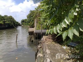 N/A Land for sale in Talat Phlu, Bangkok Land for Sale next to Canal in Wutthakat 14