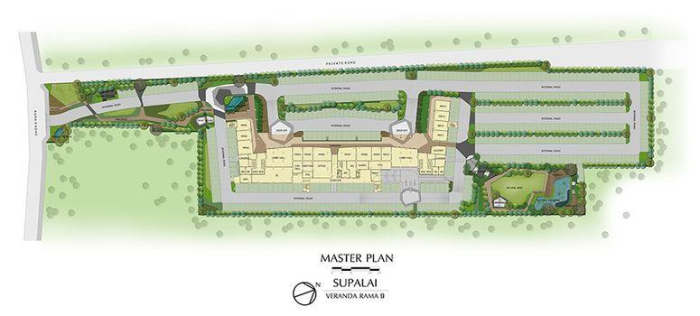 Master Plan of Supalai Veranda Rama 9 - Photo 1