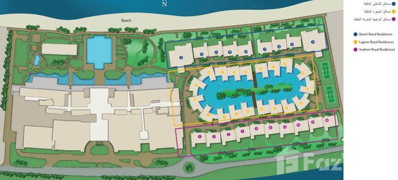 Master Plan of Jumeirah Zabeel Saray - Photo 1