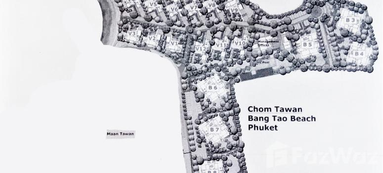 Master Plan of Chom Tawan Villa - Photo 1