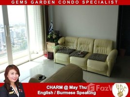 ဗိုလ်တထောင်, ရန်ကုန်တိုင်းဒေသကြီး 2 Bedroom Condo for rent in The Gems Garden Condominium, Yangon တွင် 2 အိပ်ခန်းများ အိမ်ခြံမြေ ငှားရန်အတွက်