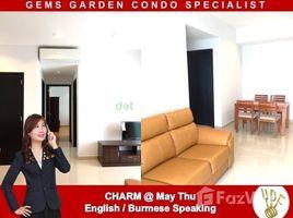 ဗိုလ်တထောင်, ရန်ကုန်တိုင်းဒေသကြီး 2 Bedroom Condo for rent in The Gems Garden Condominium, Yangon တွင် 2 အိပ်ခန်းများ ကွန်ဒို ငှားရန်အတွက်