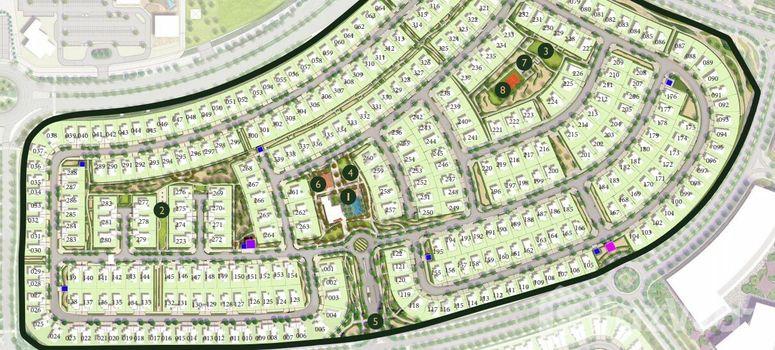 Master Plan of Sidra Villas - Photo 1