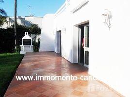 Rabat Sale Zemmour Zaer Na Agdal Riyad Agréable villa à louer à Rabat Souissi 5 卧室 别墅 租