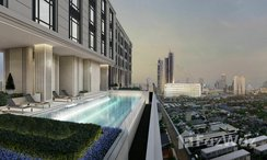 Photos 2 of the Communal Pool at Rise Charoennakhon Luxe Neo Classic