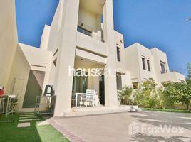 迪拜 Reem Community Furnished   Landscaped   Pool And Park Backing 3 卧室 别墅 租