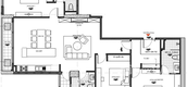 Unit Floor Plans of The Gelacy