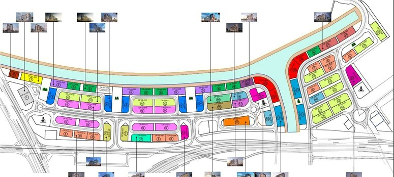 Master Plan of Azizi Riviera (Phase 2) - Photo 1