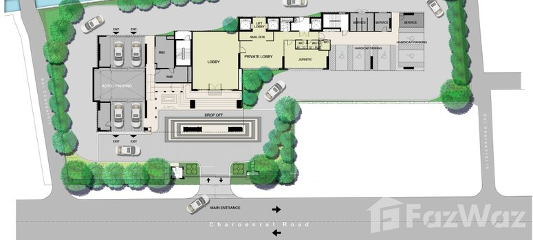Master Plan of Rise Charoennakhon Luxe Neo Classic - Photo 1