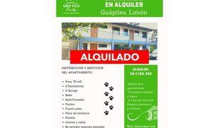 2 Habitaciones Apartamento en venta en , Limón Guápiles