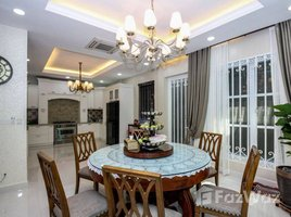 Preah Sihanouk Pir Five bedroom modern villa for rent in Koh Pich 5 卧室 别墅 租