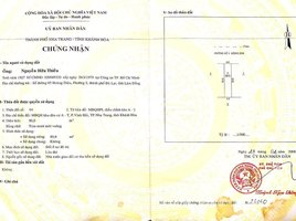 慶和省 Vinh Hai Bán đất mặt tiền Ngô Gia Khảm - khu AT - P. Vĩnh Hải - Nha Trang 80m2 N/A 土地 售
