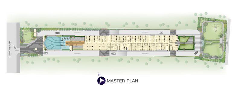 Master Plan of Supalai Veranda Sukhumvit 117 - Photo 1