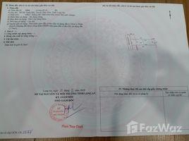 N/A Land for sale in My Hanh Bac, Long An Chính chủ bán nhanh đất 2 mặt tiền. Liên hệ: +66 (0) 2 508 8780