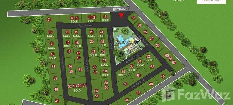 Master Plan of Sivana Gardens Pool Villas - Photo 1