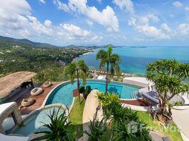 5 ห้องนอน บ้าน ขาย ใน บ่อผุด, เกาะสมุย Amazing 5 Bedroom Sea View Villa in Bo Phut
