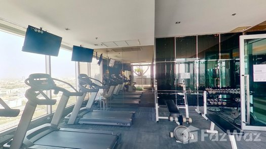 3D Walkthrough of the Communal Gym at The Address Phayathai