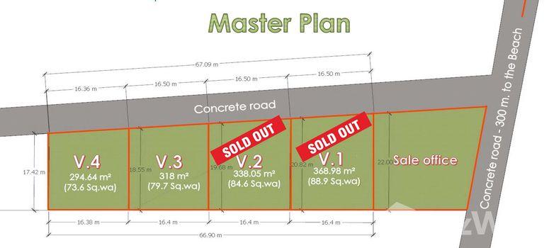 Master Plan of The Cube Baantai - Photo 1
