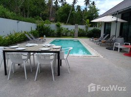 3 Schlafzimmern Villa zu verkaufen in Maret, Koh Samui 3 Bedroom Garden Pool Villa for Sale in Maret