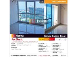 Aceh Pulo Aceh Apartemen Callia Lantai 32 Pulomas 2 卧室 住宅 售
