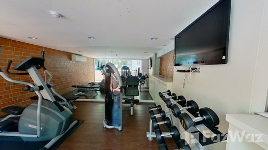 3D Walkthrough of the Communal Gym at Whizdom Punnawithi Station