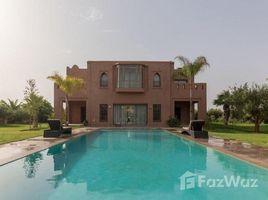 Marrakech Tensift Al Haouz Na Menara Gueliz Belle villa meublée en location dans un beau domaine sécurisé 6 卧室 屋 租