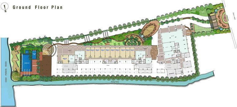 Master Plan of Lumpini Place Narathiwas-Chaopraya - Photo 1